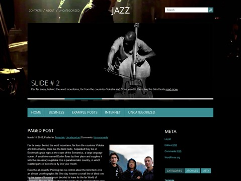Theme WordPress Jazz