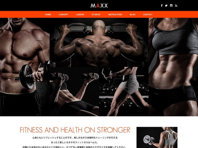 Theme WordPress MAXX