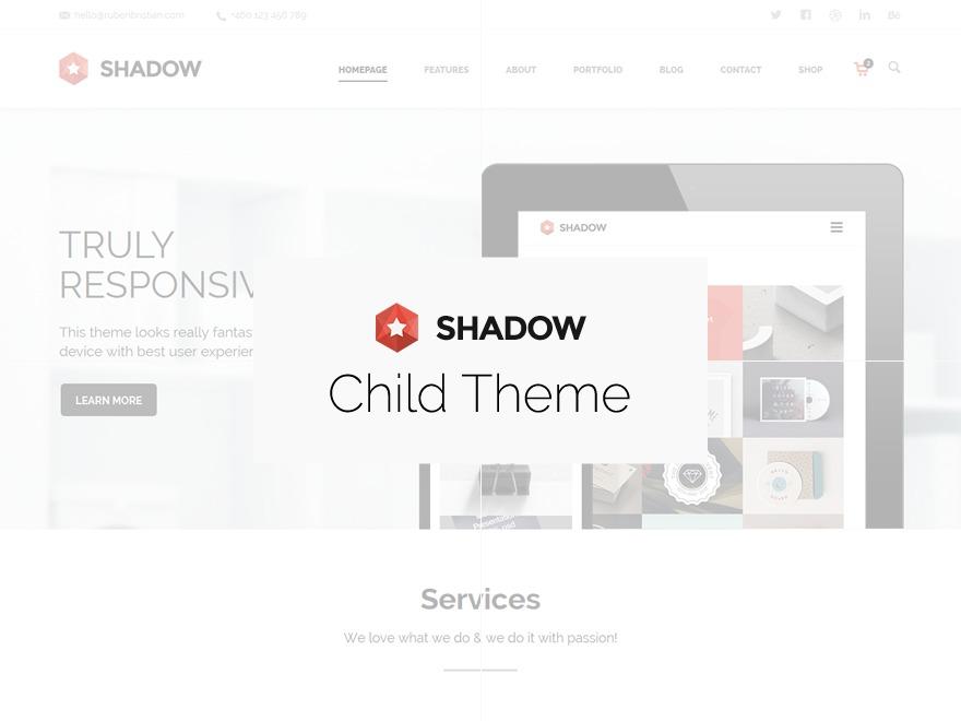 Theme WordPress Shadow Child