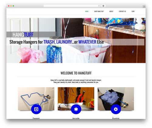 Theme WordPress Subway - wehangtuff.com