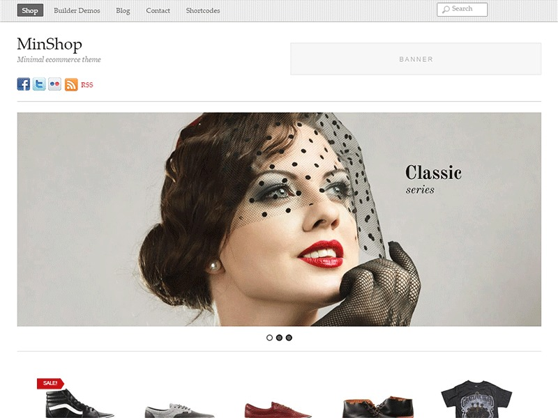 Themify Minshop WordPress shopping theme