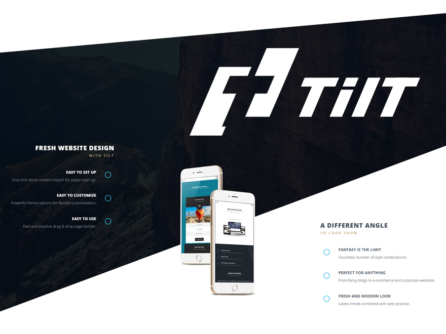Tilt WordPress theme