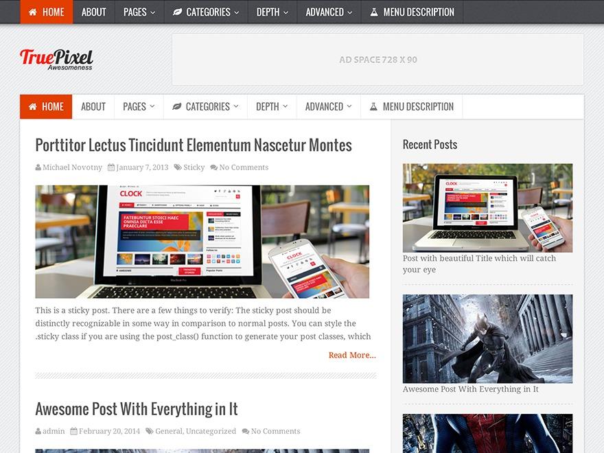 TruePixel by MyThemeShop WordPress ecommerce template