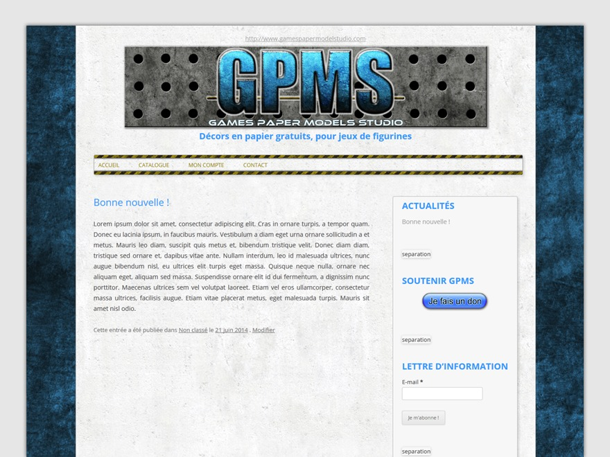 twentytwelve-Child WordPress theme design