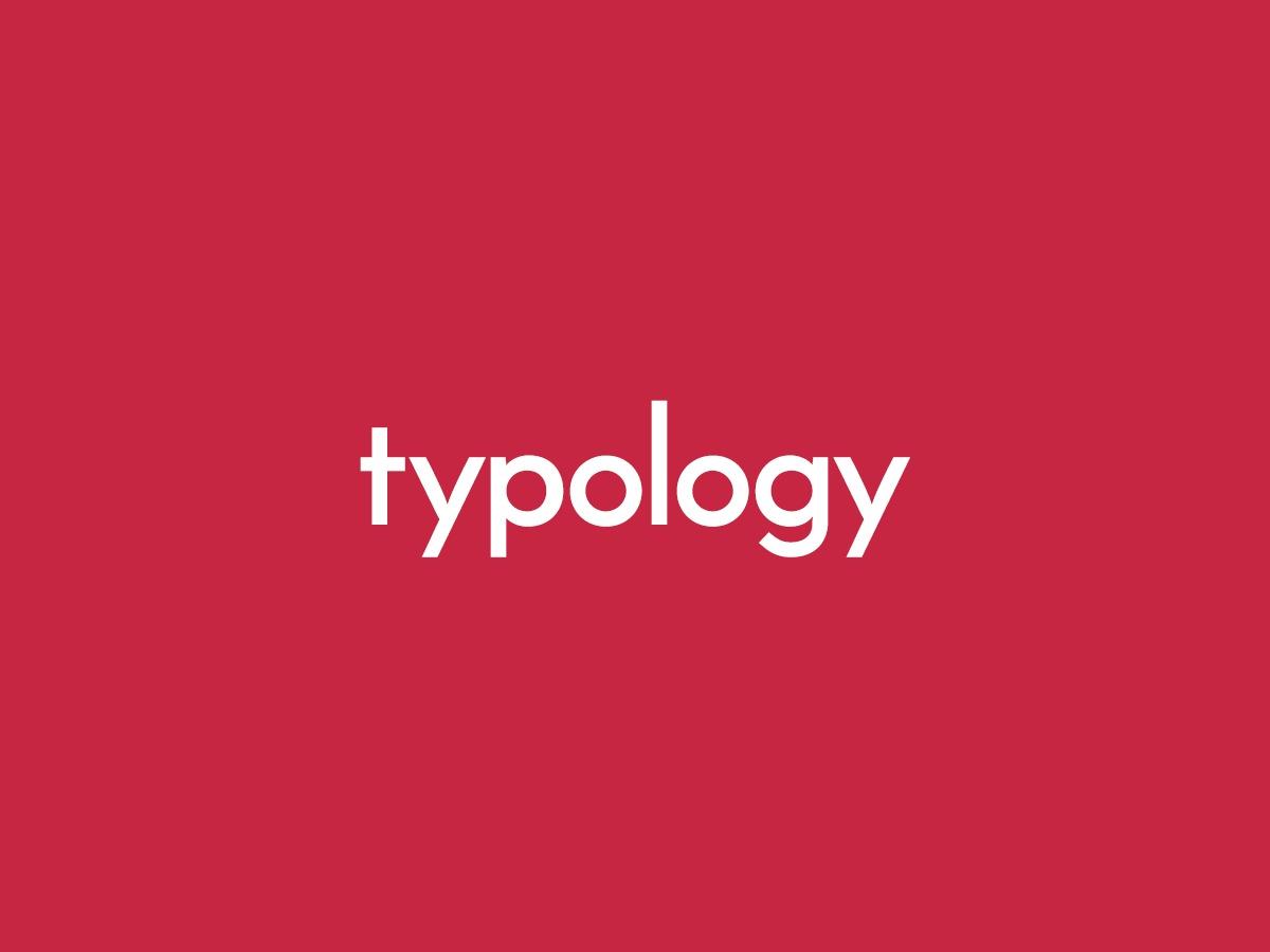 Typology photography WordPress theme