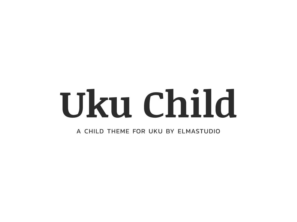 Uku Child WordPress template