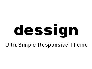 UltraSimple Responsive Theme theme WordPress
