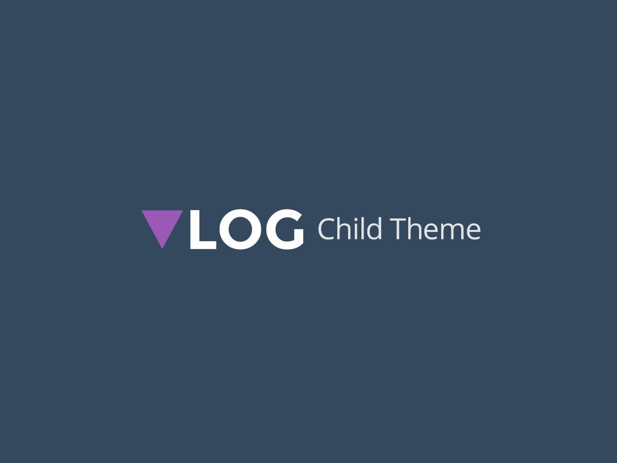 Vlog Child theme WordPress