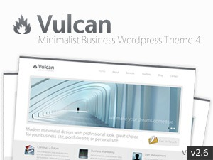 Vulcan business WordPress theme