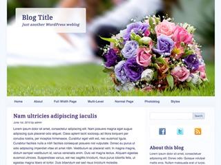 Wedding Bells best wedding WordPress theme
