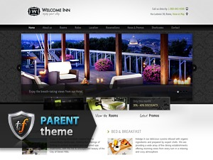 Welcome Inn Parent WordPress hotel theme