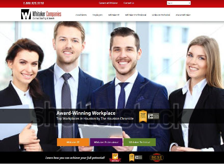 WhitakerCompanies business WordPress theme