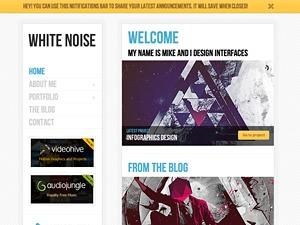 White Noise best WordPress gallery