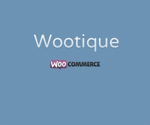 Wootique WordPress store theme