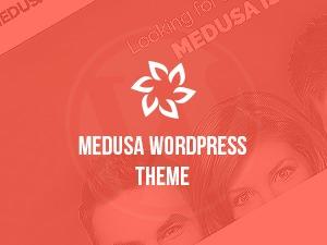 WordPress template Medusa