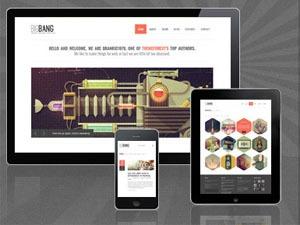 WordPress theme BigBang