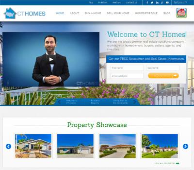 WordPress theme CT Homes Replica Theme