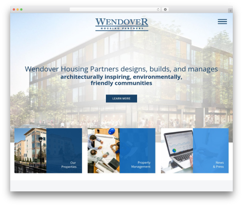 WordPress theme Dante - wendovergroup.com