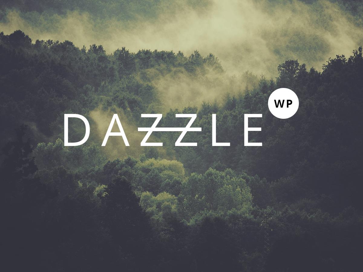 WordPress theme Dazzle