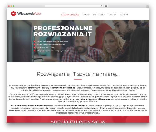 WordPress theme Energico - wieczorekweb.pl
