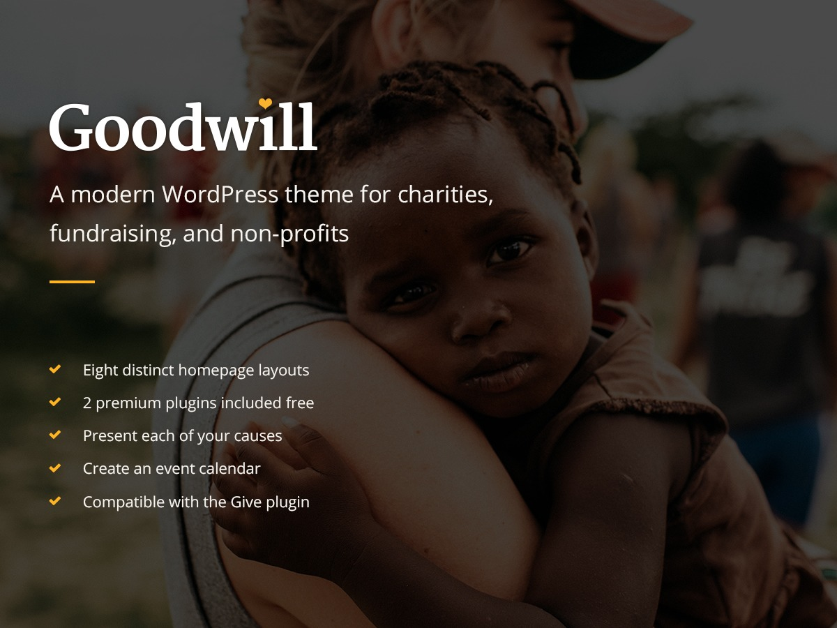 WordPress theme Goodwill