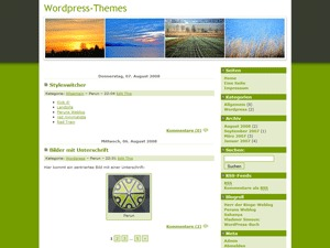 WordPress theme Landzilla