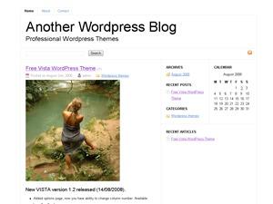 WordPress theme Mini