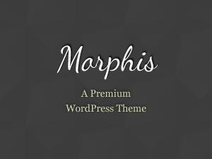 WordPress theme Morphis