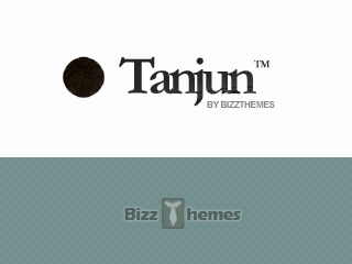 WordPress theme Tanjun
