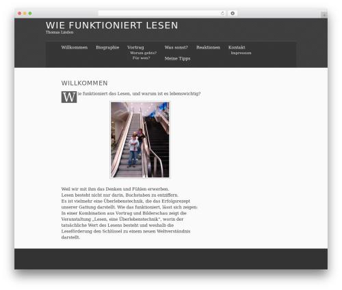 WordPress theme The Erudite - wie-funktioniert-lesen.de