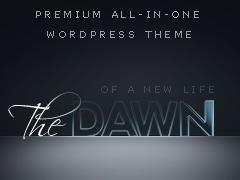 WordPress theme theDawn