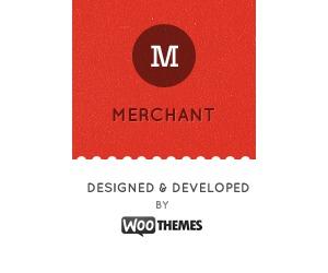 WordPress website template Merchant