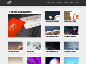 WordPress website template MYgRID2