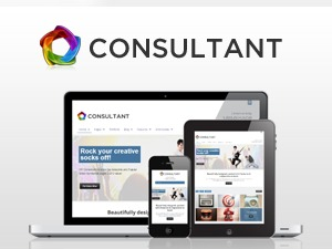 WP Consultant WordPress template for business