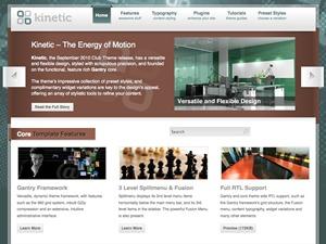WP template Kinetic