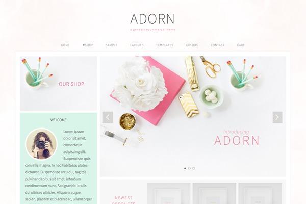 WP theme Adorn Theme