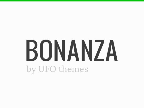 WP theme Bonanza