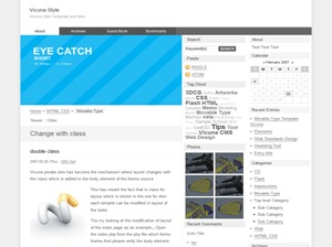 wp.Vicuna WordPress page template