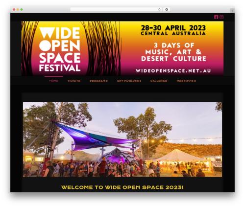 X WordPress theme - wideopenspace.net.au
