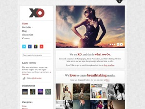 XO WordPress video template