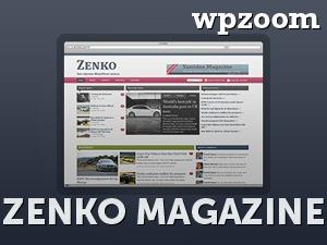 Zenko Magazine WordPress news theme