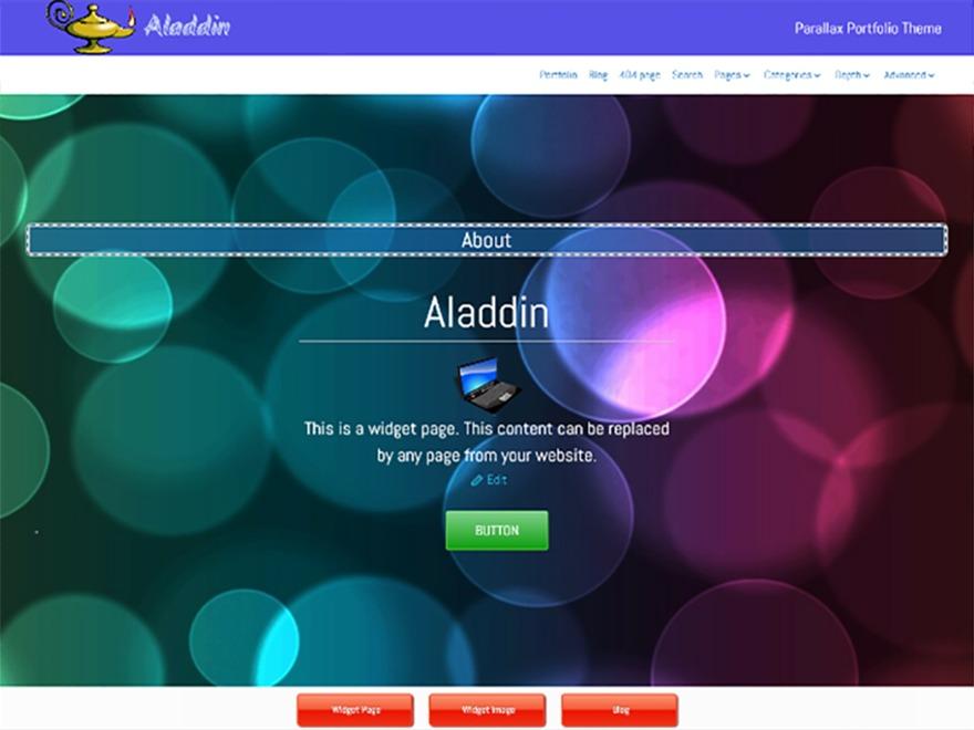 Aladdin WordPress ecommerce template