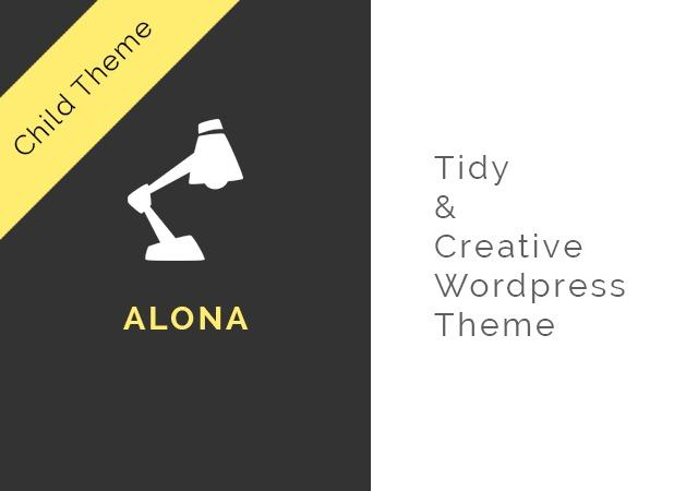 Alona Child best WordPress template
