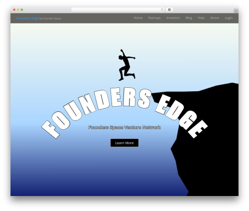 Arcade Basic free WordPress theme - foundersedge.com