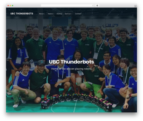 Best WordPress template Businessx - ubcthunderbots.ca