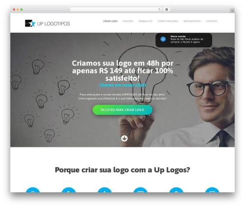 Best WordPress template Mineral - uplogos.com.br