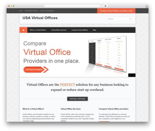 Best WordPress template Office - usavirtualoffices.org
