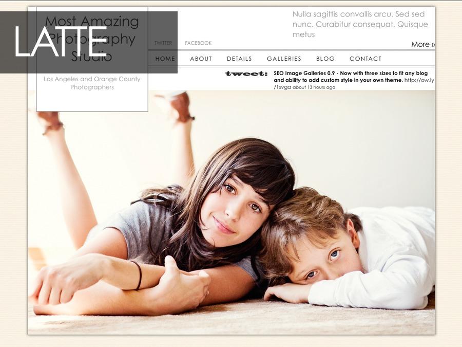 BlogSite Basic - Master Theme WordPress blog template