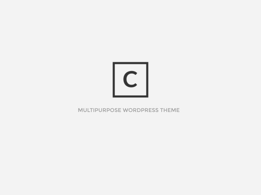 choco Child WordPress website template