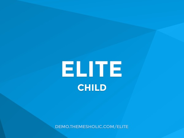 Elite Theme Child WordPress theme